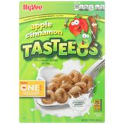 Hy-Vee Cereal, Apple Cinnamon Tasteeos
