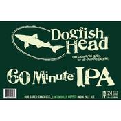 Dogfish Head Beer, 60 Minute IPA, 24 Pack