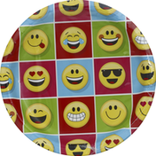Party Creations Plates, Show Your Emojions