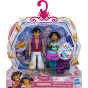 Disney Toy, Jasmine & Aladdin, Royal Clips, Age 3+