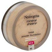 Neutrogena® Mineral Sheers, Loose Powder Foundation, Nude