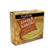 Food Club Instant French Vanilla Pudding & Pie Filling