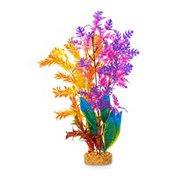 Imagitarium Tropical Orange & Purple Aquarium Plant