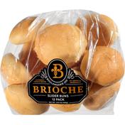 Boulangerie 255 Slider Buns, Brioche, 12 Pack