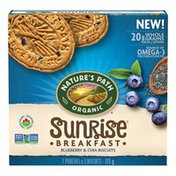 Nature's Path Sunrise Blueberry & Chia Breakfast Biscuits