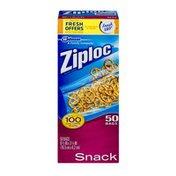 Ziploc Snack Bags - 50 CT