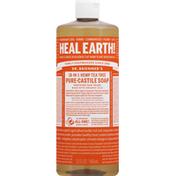 Dr. Bronner's Pure-Castile Soap, Tea Tree, 18-in-1 Hemp