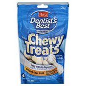 Hartz Chewy Treats, Dental, for Small Dogs, 6 Pack
