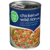 Food Club Soup, Chicken with Wild Rice