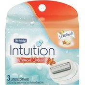 Schick Intuition Tropical Splash 0.35 oz Cartridges