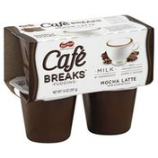 Cafe Breaks Pudding, Mocha Latte