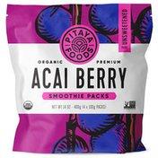 Pitaya Foods Organic Acai Berry Smoothie Packs