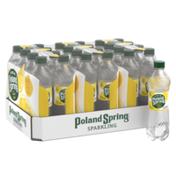 Poland spring Sparkling Water, Lively Lemon