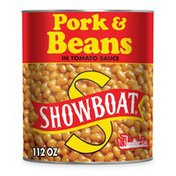 Showboat Sausage Pork & Beans in Tomato Sauce