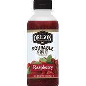 Oregon Fruit Topping, Pourable, Raspberry