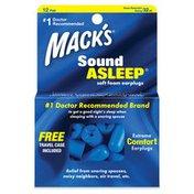 Mack's  Sound Asleep Soft Foam Ear Plugs