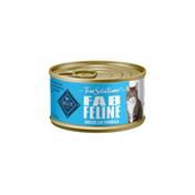 Blue Buffalo True Solutions Fab Feline Natural Indoor Adult Wet Cat Food, Chicken