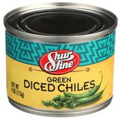 Shurfine Green Diced Chiles