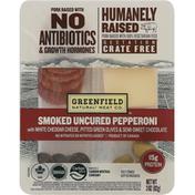 Greenfield Uncured Smoked Pepperoni