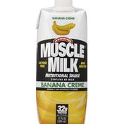 CytoSport Muscle Milk Nutritional Shake, Vanilla, Banana Creme