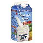 Nature's Farm Milk, Reduced Fat, 2% Milkfat