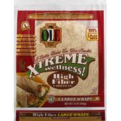 Olé Mexican Foods Wraps, High Fiber, Large