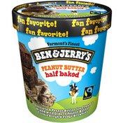 Ben & Jerry's Ice Cream Peanut Butter Half Baked®
