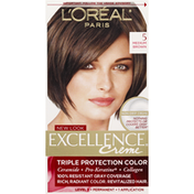 Excellence Permanent Haircolor, Medium Brown 5