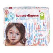 The Honest Company Honest Diapers Painted Feathers Size 5 - 25 CT