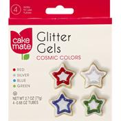 Cake Mate Glitter Gels, Cosmic Colors