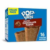 Kellogg's Pop-Tarts Toaster Pastries, Breakfast Foods, Frosted Chocolate Fudge