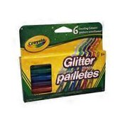 Crayola Dazzling Colour Glitter Markers