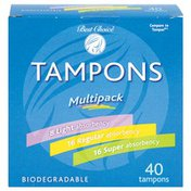 Best Choice Tampons