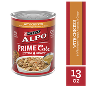 Purina Gravy Wet Dog Food, Prime Cuts With Chicken