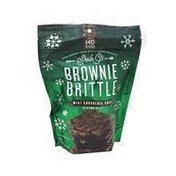 Sheila G's Brownie Brittle Mini Chocolate Chips,with Dark Drizzle