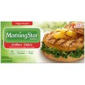 Morning Star Farms Grillers Chik'n Veggie Burgers