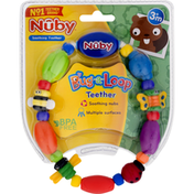 Nûby Teether, Bug-A-Loop, 3+ Months