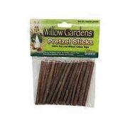 Critter Ware Willow Gardens Pretzel Sticks 100% Willow Chew Treats