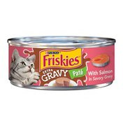Purina Friskies Extra Gravy Salmon Pate Canned Wet Cat Food