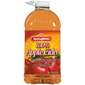 Springfield 100% Juice from Concentrate Apple Cider