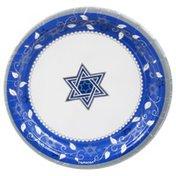 Amscan Plates, Joyous Holiday, 7 Inch