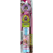 Firefly Toothbrush, With Antibacterial Cover, Soft, 3+