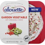 Alouette Spreadable Cheese, Garden Vegetable, Soft