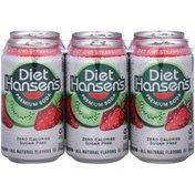 Hansen's Diet Kiwi Strawberry Soda