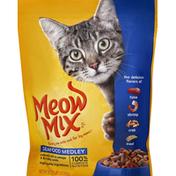 Meow Mix Cat Food, Seafood Medley