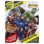 Crayola Poster, Avengers Infinity War