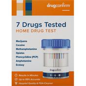 DrugConfirm Home Drug Test, 7 Drugs