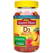Nature Made Extra Strength Vitamin D3 5000 IU (125 mcg) Gummies