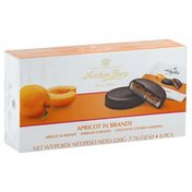 Anthon Berg Marzipan, Apricot in Brandy, Chocolate Covered