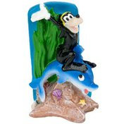 Penn-Plax Goofy on a Dolphin Mini Resin Ornament